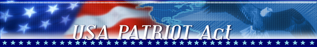 USA PATRIOT Act graphic