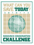 What Can You Save Today? Resource Conservation Challenge