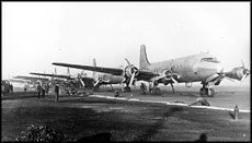 Air Force photo of planes used in the Berlin Airlift