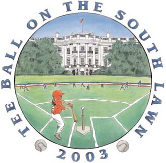 Tee Ball on the South Lawn 2003
