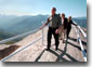 President George W. Bush tours Moro Rock in the Sequoia National Park during his trip to California, Wednesday, May 30. WHITE HOUSE PHOTO BY PAUL MORSE