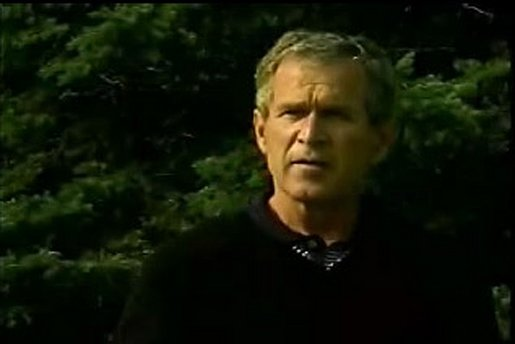 President Condemns Murder of Afghan Vice President. Video screen capture by Monty Haymes.