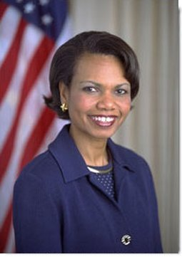 National Security Adviser Dr. Condoleezza Rice