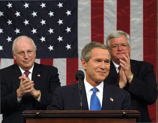 "george w bush address 2001 essay Analysis of george w bush's 2001 state of the union address part i: testing the strength of supporting material please type your ""testing the strength of."