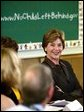 Laura Bush participates in a Reading Roundtable with educators at the William Walker Elementary School in Beaverton, Ore., Wednesday, May 19, 2004. White House photo by Tina Hager