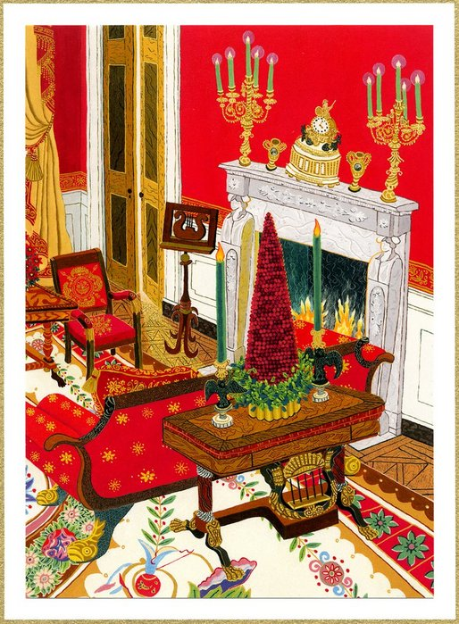 2004 White House Christmas Card.