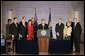 "President George W. Bush speaks during the signing ceremony of S. 2845, The Intelligence Reform and Terrorism Prevention Act of 2004, in Washington, D.C., Dec. 17, 2004. ""Under this new law, our vast intelligence enterprise will become more unified, coordinated and effective. It will enable us to better do our duty, which is to protect the American people,"" said the President. White House photo by Paul Morse"