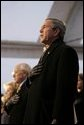 "President George W. Bush and Vice President Dick Cheney watch the inaugural concert 'A Celebration of Freedom' on the Ellipse south of the White House, Wednesday, Jan. 19, 2005. ""An inauguration is a time of unity for our country,"" President Bush said during remarks delivered at the event. ""With the campaign behind us, Americans lift up our sights to the years ahead and to the great goals we will achieve for our country. I am eager and ready for the work ahead."" White House photo by Eric Draper"