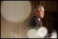 President George W. Bush delivers remarks at the National Prayer Breakfast at the Washington Hilton Hotel in Washington, D.C., Thursday, Feb. 3, 2005. White House photo by Paul Morse
