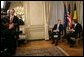 President George W. Bush meets with Prime Minister Guy Verhofstadt of Belgium in his office in Brussels, Belgium, Feb. 21, 2005. White House photo by Eric Draper