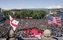 "Thousands gather in Freedom Square to hear President George W. Bush speak in Tbilisi, Georgia, Tuesday, May 10, 2005. ""When Georgians gathered here 16 years ago, this square had a different name. Under Lenin's steely gaze, thousands of Georgians prayed and sang, and demanded their independence, said President Bush. ""The Soviet army crushed that day of protest, but they could not crush the spirit of the Georgian people."" White House photo by Paul Morse"