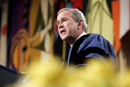 George W Bush Calvin College Homecoming Insights into Religion Lilly Foundation Grants