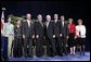 Vice President Dick Cheney stands with the 2004 Recipients of the Malcolm Baldrige National Quality Award during a ceremony in Washington, D.C., Tuesday, July 20, 2005. White House photo by Paul Morse