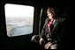 Vice President Dick Cheney travels via Blackhawk helicopter to Baghdad International Airport for a one-day surprise visit to Iraq, Sunday Dec. 18, 2005. White House photo by David Bohrer
