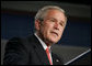 "President George W. Bush speaks on health care Monday, May 1, 2006, during an address at the Washington Hilton Hotel. The President told the audience, ""The best way to reform this health care system is to preserve the system of private medicine. to strengthen the relationship between doctors and patients, and make the benefits of private medicine more affordable and accessible for all our citizens.""  White House photo by Paul Morse"