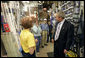 President George W. Bush visits Frager's Hardware store in the Capitol Hill neighborhood of Washington, D.C., Friday, May 5, 2006. White House photo by Eric Draper