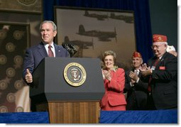 b569739eb6dc8 President George W. Bush addresses the 88th Annual American Legion National  Convention Thursday