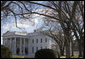 The American flag flies at half-staff over the White House in respect to the passing of former President Gerald R. Ford Wednesday, Dec. 27, 2006. President Ford died at his home in Rancho Mirage, Calif., Tuesday evening, Dec. 26.