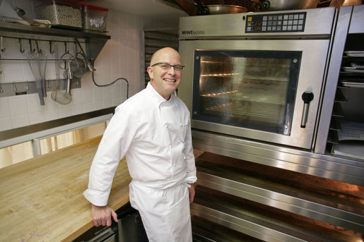 Mrs. Laura Bush announced today that Bill Yosses has been named as the White House Executive Pastry Chef. Trained in classical French cooking and a chef for over 30 years, Mr. Yosses brings a wide variety of experience to the White House pastry kitchen. He served as a White House Holiday Pastry Chef for the 2006 holiday season. White House photo by Shealah Craighead