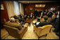 Vice President Dick Cheney and Australian Prime Minister John Howard, bottom left, meet in the Prime Minister's office, Saturday, Feb. 24, 2007 in Sydney. White House photo by David Bohrer
