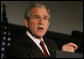 President George W. Bush addresses his remarks to the National Cattlemen�s Beef Association Wednesday, March 28, 2007 in Washington, D.C., speaking on the strength of the economy and the need to stay resolved and firm in protecting the security of the United States. White House photo by Joyce Boghosian