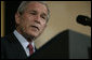 "President George W. Bush speaks to democracy advocates Tuesday, June 5, 2007, at the Czernin Palace in Prague. Said the President, "" In this room are dissidents and democratic activists from 17 countries on five continents. You follow different traditions, you practice different faiths, and you face different challenges. But you are united by an unwavering conviction: that freedom is the non-negotiable right of every man, woman, and child, and that the path to lasting peace in our world is liberty."" White House photo by Shealah Craighead"