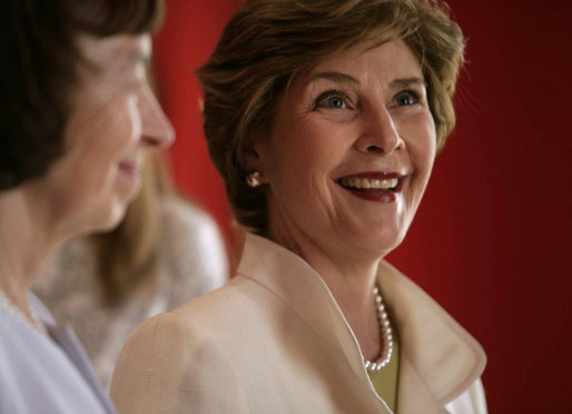 Mrs. Laura Bush tours Prague Castle with Mrs. Livia Klausova, First Lady of Czech Republic, Tuesday, June 5, 2007, in Prague, Czech Republic. White House photo by Shealah Craighead