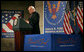 Vice President Dick Cheney delivers remarks on the war in Iraq Friday, Sept. 14, 2007, at the Gerald R. Ford Presidential Library and Museum in Grand Rapids , Mich. White House photo by David Bohrer