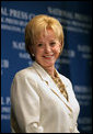 Mrs. Lynne Cheney is seen Thursday, Oct. 18, 2007, following an address at the National Press Club in Washington, D.C. White House photo by David Bohrer