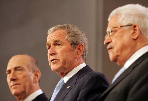 President Bush Attends Annapolis Conference