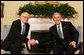President George W. Bush meets with Ambassador Kai Eide of Norway, the Special Representative of the U.N. Secretary-General for Afghanistan, Tuesday, April 29, 2008, in the Oval Office. White House photo by Joyce N. Boghosian