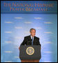President George W. Bush delivers remarks Thursday, June 26, 2008, during the National Hispanic Prayer Breakfast, hosted by Esperanza, at the J.W. Marriott Hotel in Washington, D.C. Established in 2002, Esperanza works with more than 5,000 Hispanic churches and ministries committed to raising awareness and identifying resources to strengthen the Hispanic community. White House photo by Chris Greenberg
