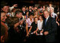 President George W. Bush poses for photos and meets with guests at the 2008 Annual Meeting of the West Virginia Coal Association, Thursday July 31, 2008 in White Sulphur Springs, W.Va. White House photo by Joyce N. Boghosian