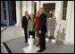 Vice President Dick Cheney and Mrs. Lynne Cheney welcome Vice President-elect Joe Biden and Mrs. Jill Biden to the Vice President's Residence Thursday, November 13, 2008, at the U.S. Naval Observatory in Washington, D.C. White House photo by David Bohrer