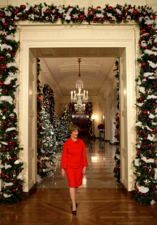 Press availability by mrs bush at the white house holiday for House christmas decorations ideas