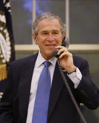 President Of The United States George W Bush