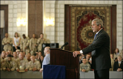 President's Trip to Iraq