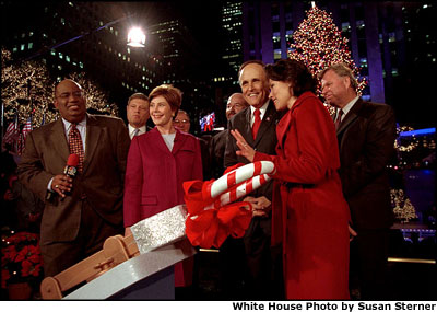 Christmas Tree Lighting At The White House