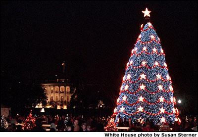 2001 National Community Christmas Tree. & National Community Christmas Tree Lighting