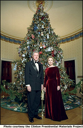 White House Christmas Trees