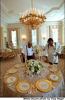 State Dinner Preparations Photo Essay Photo Three