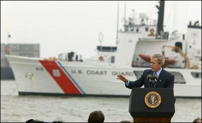 Living A Healthy Lifestyle Essay President George W Bush Discusses Seaport And Cargo Security At The Port  Of Charleston What Is The Thesis Statement In The Essay also Term Papers And Essays War On Terror Photo Essay A Modest Proposal Ideas For Essays