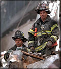 Firefighter Heroes at the World Trade Center
