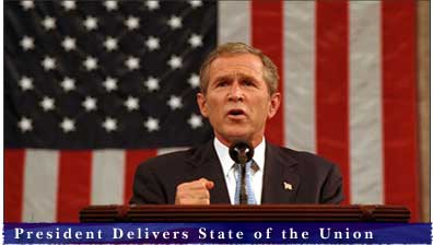 President Bush Delivers State of the Union