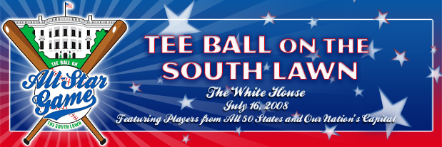 Link to White House Tee-Ball All-Star Game Page