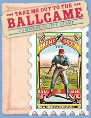 Ball Game Commerative Stamp