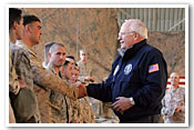 Vice President's Visit to Iraq Photo Essay