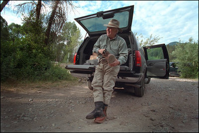 cheney fishing Dick