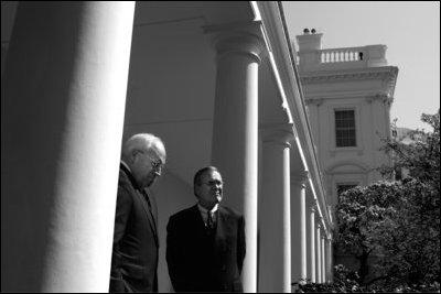 Vice President of the United States - Richard B. Cheney