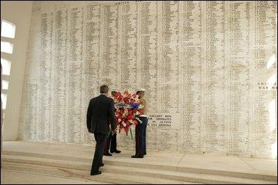President Bush's speech about Iraq - Essay Example
